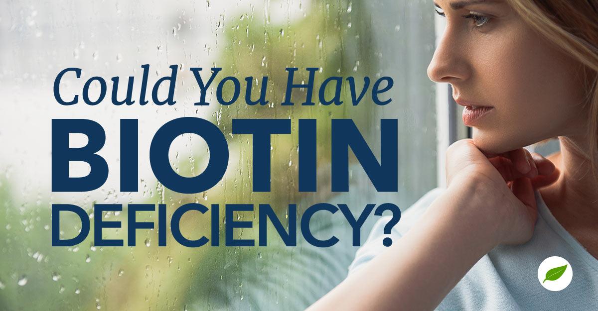 biotin deficiency
