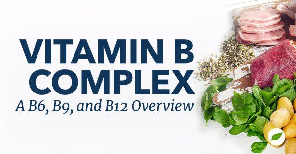 Vitamin-B-Complex-B6-B9-B12