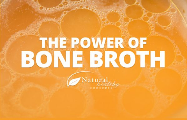 Bone broth benefits your body with vitamins and minerals.