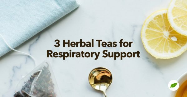 herbal teas for respiratory health support