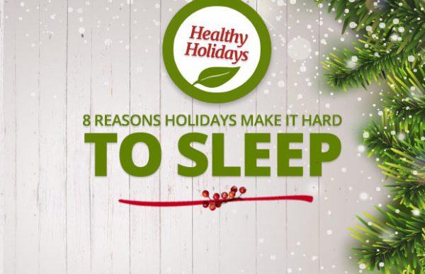 sleep well during holidays
