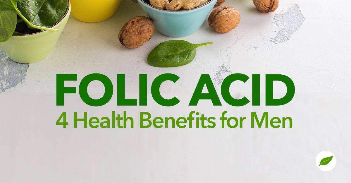 folic acid for men