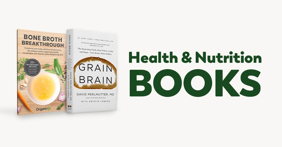 books on health and nutrition