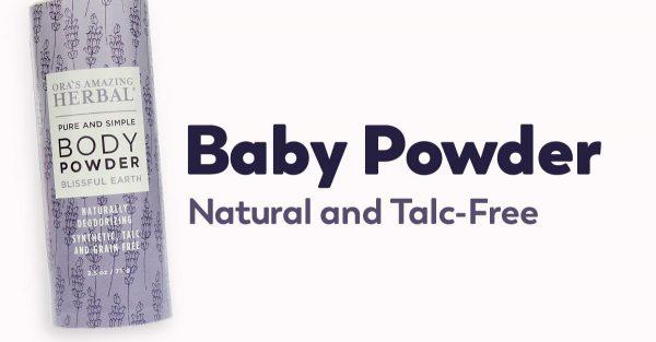 talc-free baby powder