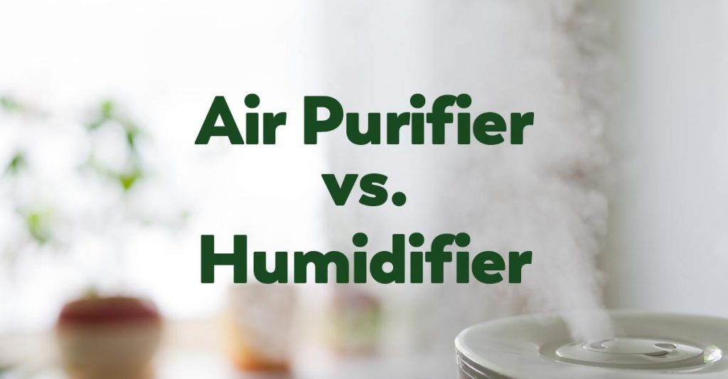what is the difference between air purifier and humidifier