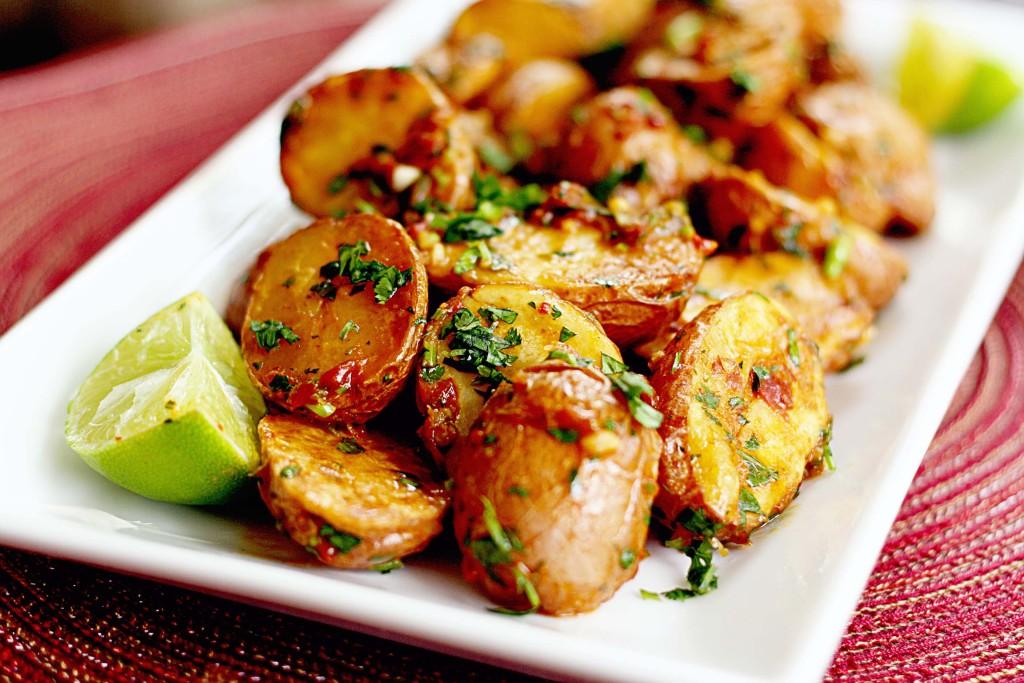 Chipoltle & Lime Roasted Potatoes