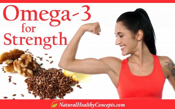 Omega 3 for Strength