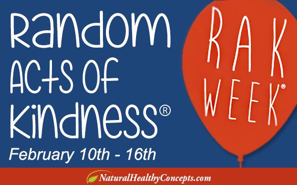 Poster for Random Act of Kindness Week - February 10th-16th