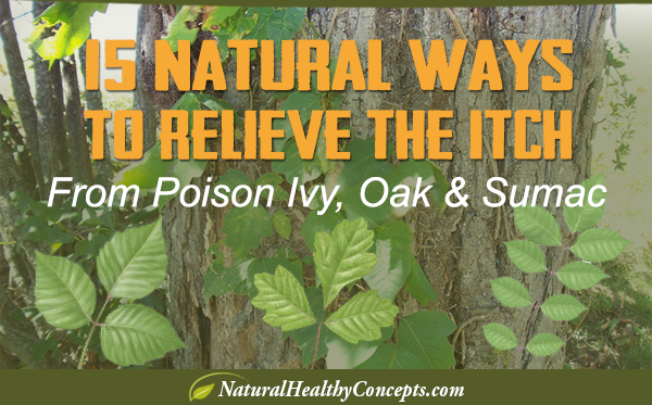 natural ways to relieve the itch