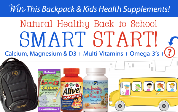 Complete Our Natural Healthy Back to School Smart Start!