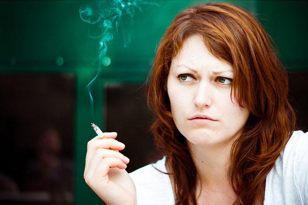 Smoking-Woman