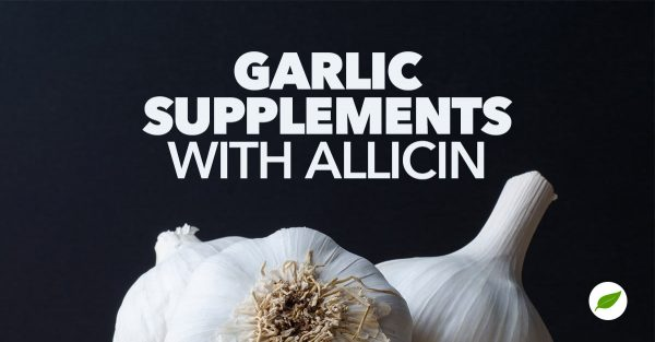 garlic supplements with allicin