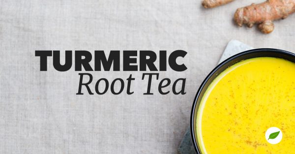 turmeric root tea