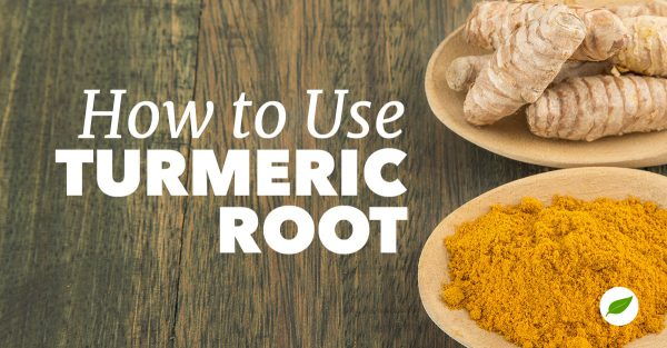 how to use turmeric root