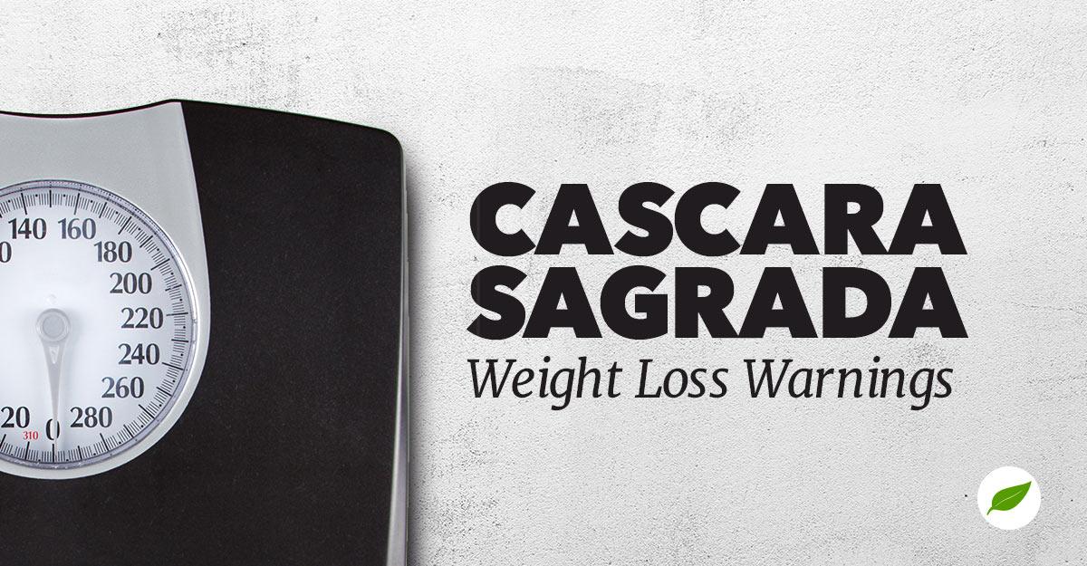cascara sagrada weight loss