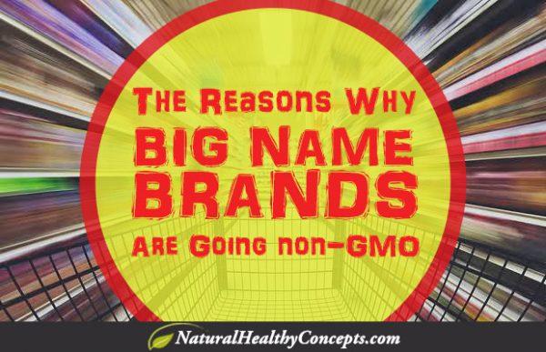 big brands go non-GMO