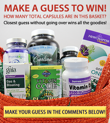Make a guess to win this basket of supplements!