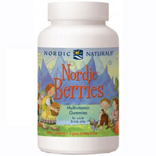 Nordic Berries Multivitamin Gummies, 200 Gummies, Nordic Naturals