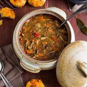 quinoa-mushroom-soup