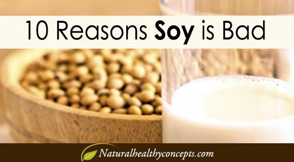 10 Reasonsn to Avoid Soy