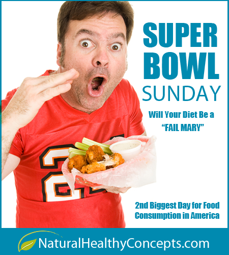 Will Your Super Bowl Party be a Fail Mary for Your Diet?