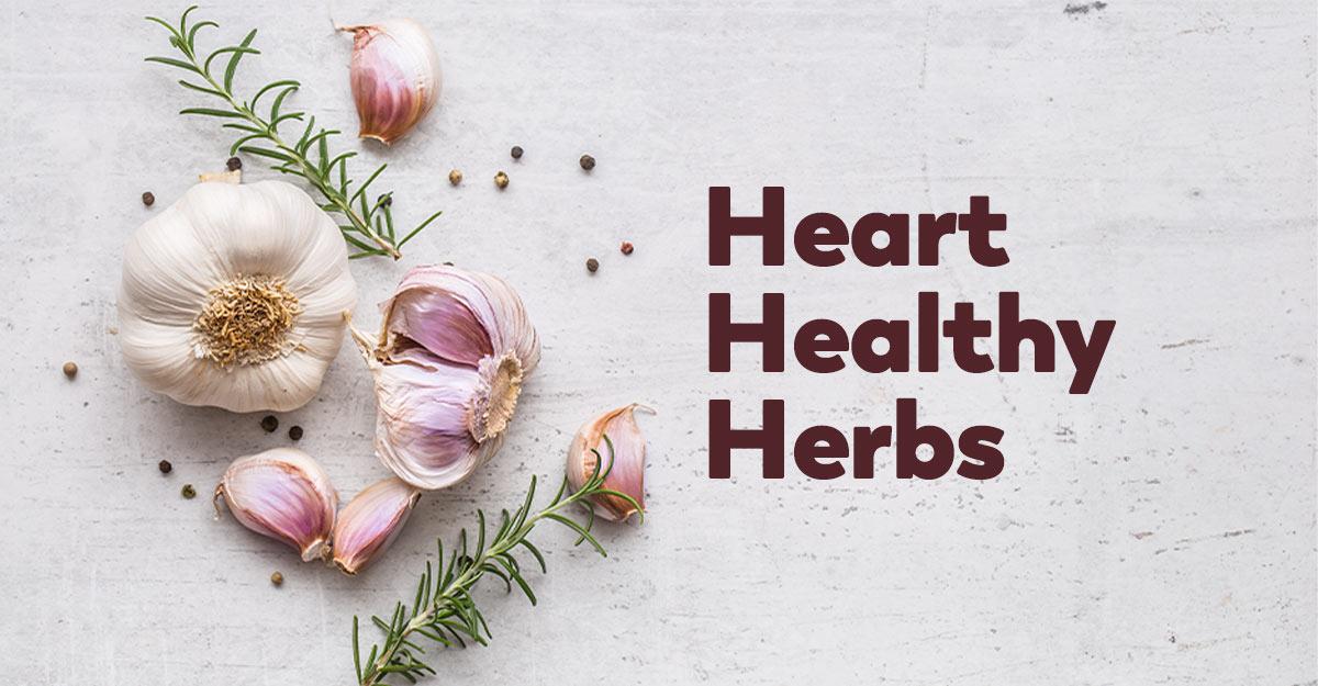 heart healthy herbs
