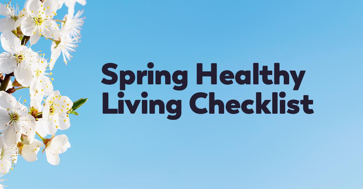 spring-healthy-living-checklist-2021