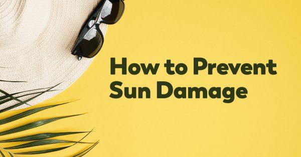 prevent sun damage